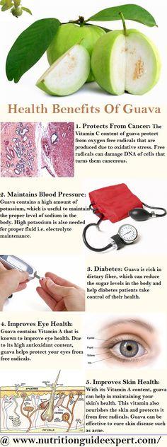 Health benefits: guava