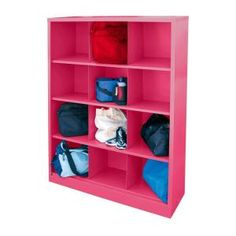 Sandusky, Cubby 46 in. x 66 in. Pom Pink 12-Cube Organizer, IC00461866-30 at The Home Depot - Tablet