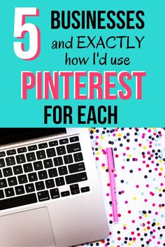 5 Businesses and EXACTLY how I'd use Pinterest with Each | Click through to find out step-by-step how to utilize the power of Pinterest marketing no matter if you have a local or online, or service or product based business. Pinterest is the ultimate mar