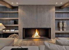 Modern and Fire places