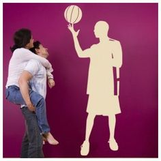 "Style and Apply Skill Basketball Player Wall Decal Size: 46"" H x 18"" W, Color: Royal Blue"