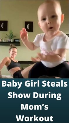 #Baby Girl #Steals Show During Mom's #Workout Dance Moms Workout, Bars And Melody, Tattoo Fails, Funny Memes, Hilarious, Cute Funny Babies, Dancing Baby, Disney Princess Pictures, Beautiful Flowers Wallpapers