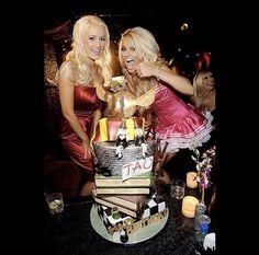 Holly Madison and Angel Porrino's Harry Potter's themed birthday cake.  www.gimmesomesugarLV.com