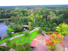 efteling, holland --- this was our amusement park when i was a kid