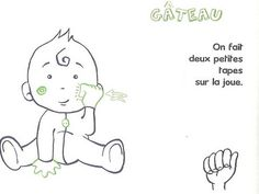 GATEAU French Signs, French Language Learning, Important Facts, Sign Language, Got Him, Games For Kids, About Me Blog, How To Get, Dire
