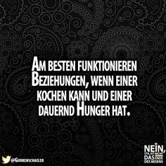 :D #Beziehungen #Beziehungstipps #Hunger #Kochen #Ernährung #Verwöhnen #Ehe #Freundschaft #Tipps #funktioniert
