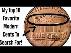 These are 10 of my favorite modern pennies to search for while coin roll hunting! Valuable Pennies, Rare Pennies, Valuable Coins, Old Coins Worth Money, Old Money, Extra Money Jobs, Saving Coins, Easy Crafts To Sell, Coin Worth