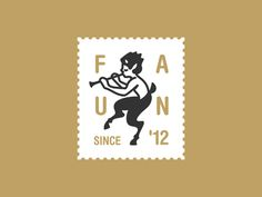 Faun logo designed by Mark Forge. Connect with them on Dribbble; the global community for designers and creative professionals. Logo Inspiration, Badges, Typo Logo, Great Logos, Logo Restaurant, Design Graphique, Pictogram, Graphic Design Typography, Graphic Illustration