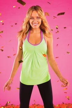 Tanya Mesh Tank + Hidden Tropicana 7/8 Tight  Love this green colour <3 #LJWISHLIST