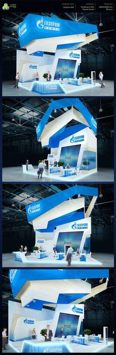 Gazprom on Behance