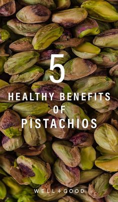 """If you're wondering, """"Are pistachios healthy? Here's what you need to know about pistachio nutrition and health benefits. Pistachio Benefits, Pistachio Nutrition, Healthy Snacks, Healthy Eating, Healthy Recipes, Clean Eating, Snack Recipes, Superfood Recipes, Healthy Lifestyle Tips"""