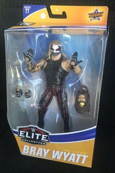 WWE Mattel Elite 77 THE FIEND BRAY WYATT RARE HTF MOC IN HAND SHIPS NOW WWF NXT