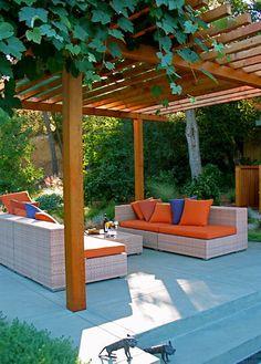 Like the simple lines  Garden Architecture/Robert Trachtenberg - modern - landscape - san francisco - Garden Architecture
