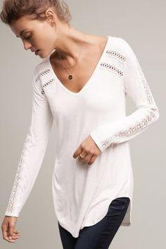 Lace-Line T-Shirt