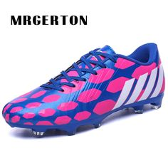 71a4a6a8d0e sale soccer shoes training shoes for men cheap football cleats pu leather  artificial grass soccer
