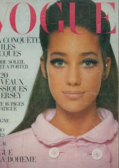 Marisa Berenson.  Photo by David Bailey.  French Vogue, April 1, 1967.