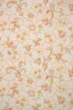 Vintage Wallpaper by the Yard - Antique Floral Wallpaper Art Deco Pink and Lavender Antique Wallpaper, Bedroom Inspo, 1930s, Homes, Knitting, Rugs, Antiques, Unique Jewelry, Handmade Gifts