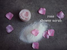 Items similar to Rose Shower Scrub. on Etsy Shower Scrub, Beauty Elixir, Organic Soap, Glycerin Soap, Smooth Skin, Soaps, Scrubs, Fragrance, Sugar