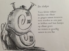 versje over een slak Fairy Tales, Poems, Preschool, Drama, Kids, Languages, Google, Insects, Seeds