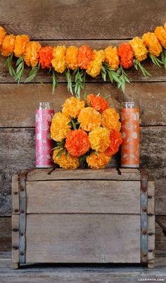 Tissue Paper Marigolds