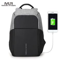 Anti-Theft, USB Charging Backpack