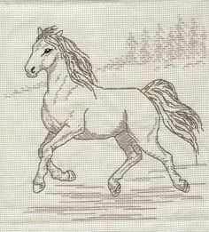 Horse Cross Stitch Patterns | an article titled free horse cross stitch patterns on 2 22 2011 at ...