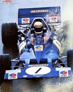 1970 Jackie Stewart , ELF Team Tyrrell,  Tyrrell 003 Ford