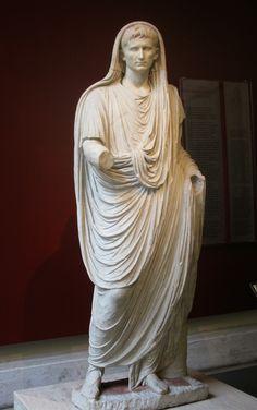 Augusto di via Labicana, ritratto uffuciale, 31a.C-14d.C. Museo Nazionale Romano( palazzo Massimo), Roma.