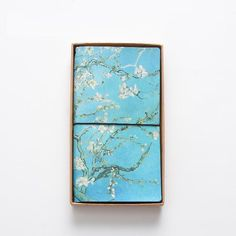 Van Gogh Travel Journal Planner, Portable PU Leather Refillable Travelers Diary With Card Holder Pockets, Best Notebook Gift For Adults Women Men Teens Girls Boys Friend (Apricot Flower) Diy Notebook, Journal Notebook, Journal Diary, Diary Book, Famous Artwork, Cute Notebooks, Van Gogh Paintings, Book Stationery, Leather Notebook