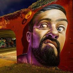 Amazing hyperrealistic Street Art by Smug One   #art #mural #streetart