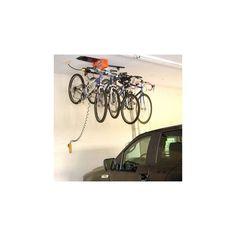 Bike Storage Racks For Garage Ceiling Hanger Garage Gator Motorized Hoist 125 lb #GarageGator