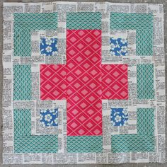 Don't Call Me Betsy: Threadbias On Tour: The Cross Maze Block Tutorial