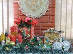 Composição inspira o resgate da tradição natalina. Decoração: Heda Seffrin Fotografia: Simone Seffrin