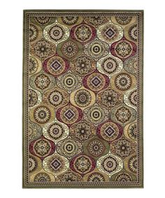 Love this Multi Mosaic Panel Cambridge Rug on #zulily! #zulilyfinds