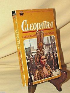 Cleopatra by Carlo Franzero Elizabeth Liz Taylor Burton P2163 1st Print 1963 PB