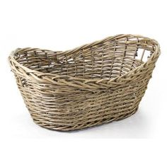 "Zentique Inc. French Market Basket Size: 15"" H x 35"" W x 21"" D"