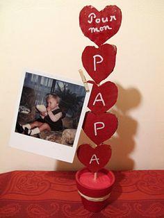 Porte photos de Fête des pères