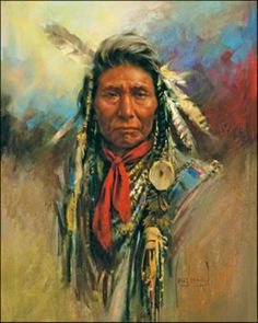 Native American -  artist Harley Brown