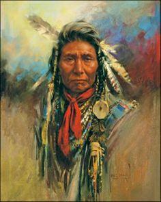 Native American -  artist Harley Brown
