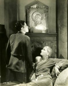 Greta Garbo and Ramon Novarro, Mata Hari, 1931.