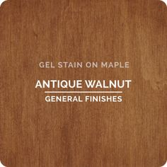 Looking for that hand rubbed wood finish? Try our urethane gel stains - nothing creates color in an oil base stain like gel. We match most of Bartley's colors and you will find our products stocked in Woodcraft and Rockler stores throughout the nation. Cabinet Stain Colors, Wood Stain Colors, Grey Stain, Paint Colors, Water Based Wood Stain, Oil Based Stain, Maple Stain, Walnut Stain, Fall Wood Projects