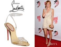 Bella Thorne's Christian Louboutin Icone A Clous Sandals