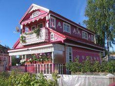 Русский дом под Архангельском