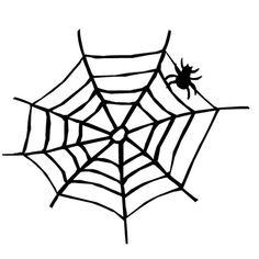 vintage clip art spiderweb spider halloween graphics fairy rh pinterest com black and white halloween border clip art halloween party black and white clipart