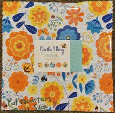 "From the fabric collection 'On the Wing' designed by Abi Hall for Moda Fabrics... each layer cake includes 42 - 10"" squares of fabric... $39 per delightfully decadent fabric cake..."