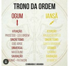 Trono da ordem Orisha, Gods And Goddesses, Wicca, Tatoos, Mystic, Spirituality, Faith, Instagram, Spirit Guides