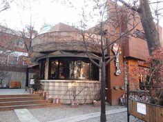 Hongdae Coffee shop It's the coffee shop from Coffee Prince! Korea Shopping, Seoul Itinerary, Cute Coffee Shop, Coffee Shops, Coffee Prince, South Korea Travel, Hongdae, Flower Boys, Cafe Design