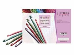 Amazon.com: Knitter-s Pride Crochet Hooks Sets, Simfonie Wood Single Ended: Home & Kitchen