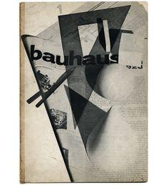 Bayer, Herbert [Designer], Walter Gropius and Laszlo Moholy-Nagy [Editors]: BAUHAUS 1 1928: ZEITSCHRIFT FUR BAU UND GESTALTUNG. Dessau: Bauhaus Dessau, 1928.