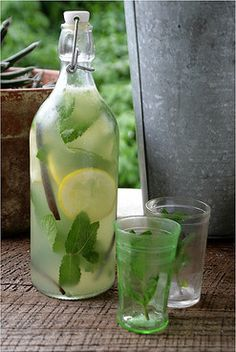 Herbal Homemade Lemonade